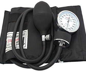 View the product SantaMedical Adult Deluxe Aneroid Sphygmomanometer