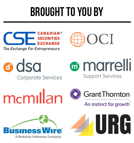 Thank you to event sponsors for PreDAC Toronto