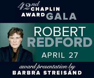 Robert Redford Chaplin Gala 300x250