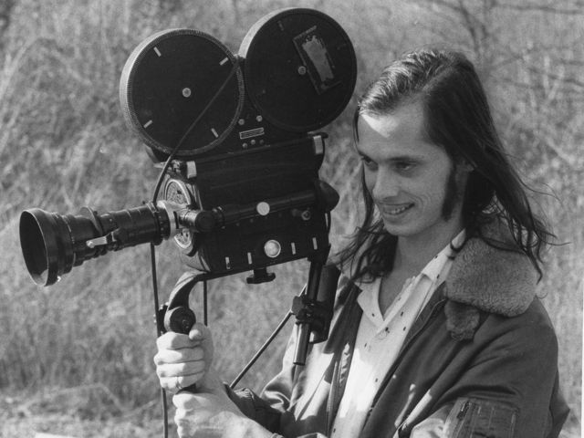 John Waters on the set of Pink Flamingos   Photo by Steve YeagerJohn Waters Mustache