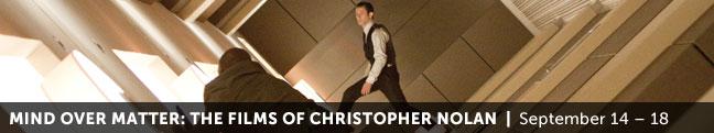 Mind Over Matter: The Films of Christopher Nolan