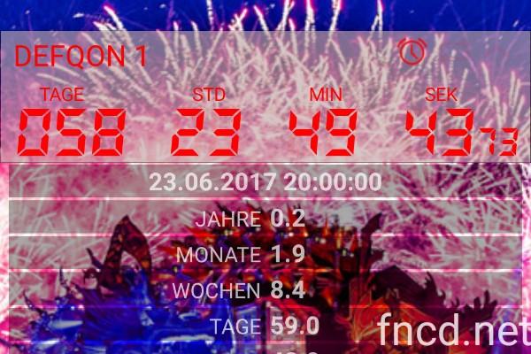 DEFQON 1 - Final Countdown