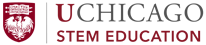 UChicago STEM Education logo