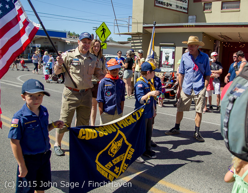 Vashon Island Strawberry Festival Grand Parade 2015