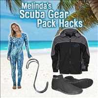 Melinda's Scuba Gear Pack Hacks for Women