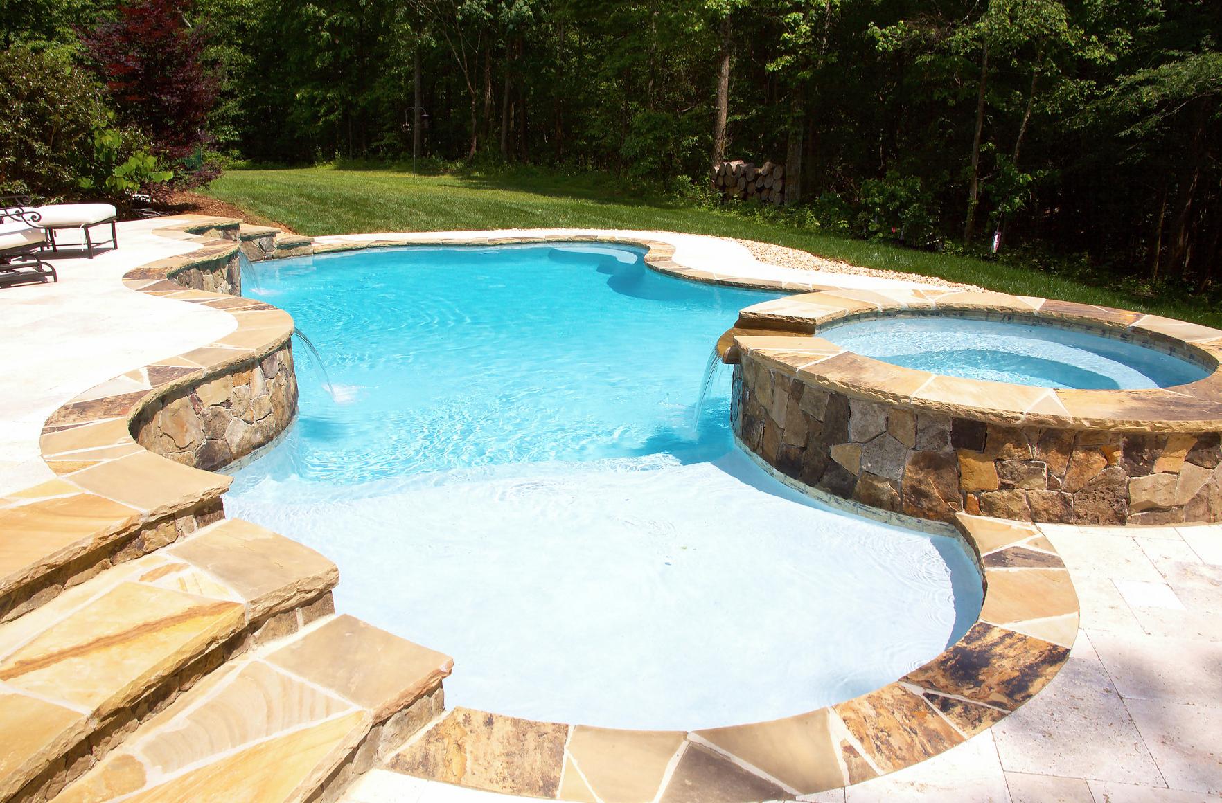 Charlotte inground pool builder cpc pools is where the for Inground pool builder