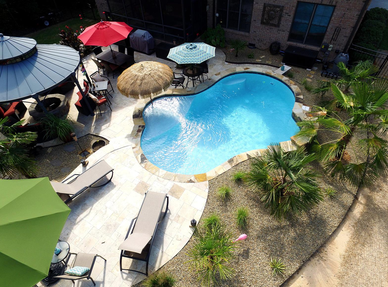 Concrete Inground Pool Installation Services in Charlotte North ...