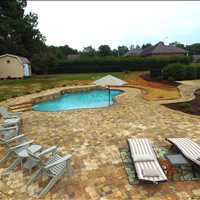 Charlotte North Carolina Custom Inground Concrete Pool Installation from CPC Pools 704-799-5236