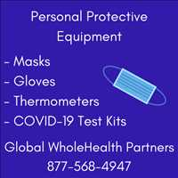 Premium PPE Supplies for Sale Online from Global WholeHealth Partners 877-568-4947
