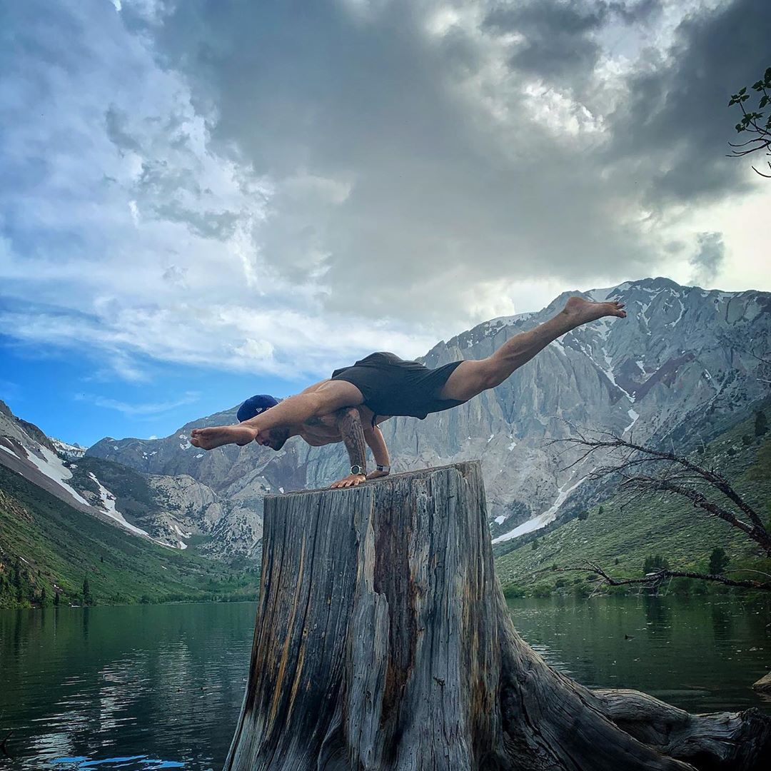 When some people disappear  it's a beautiful day - Calvin Corzine Yoga