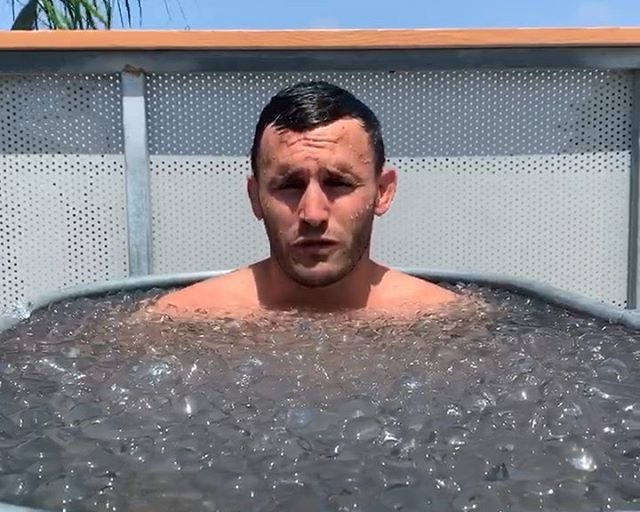 Story time! In the ice bath with Calvin Corzine Yoga