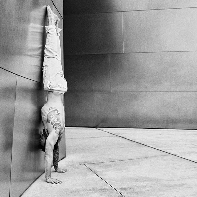 Calvin Corzine @calvmonster Yoga Instructor