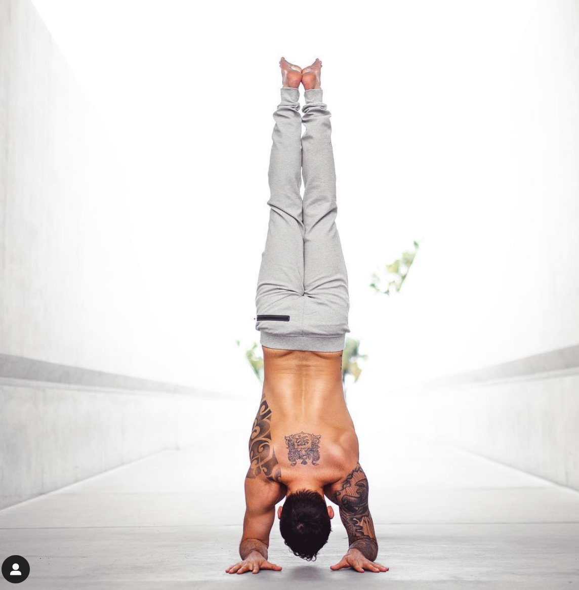 Doing a yoga pose doesn't make you spiritual, how you live your life does.