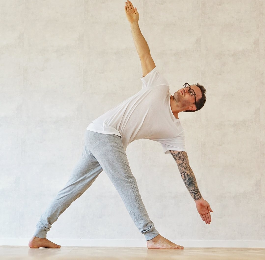 Now external leverage, give it a shot - Calvin Corzine Yoga
