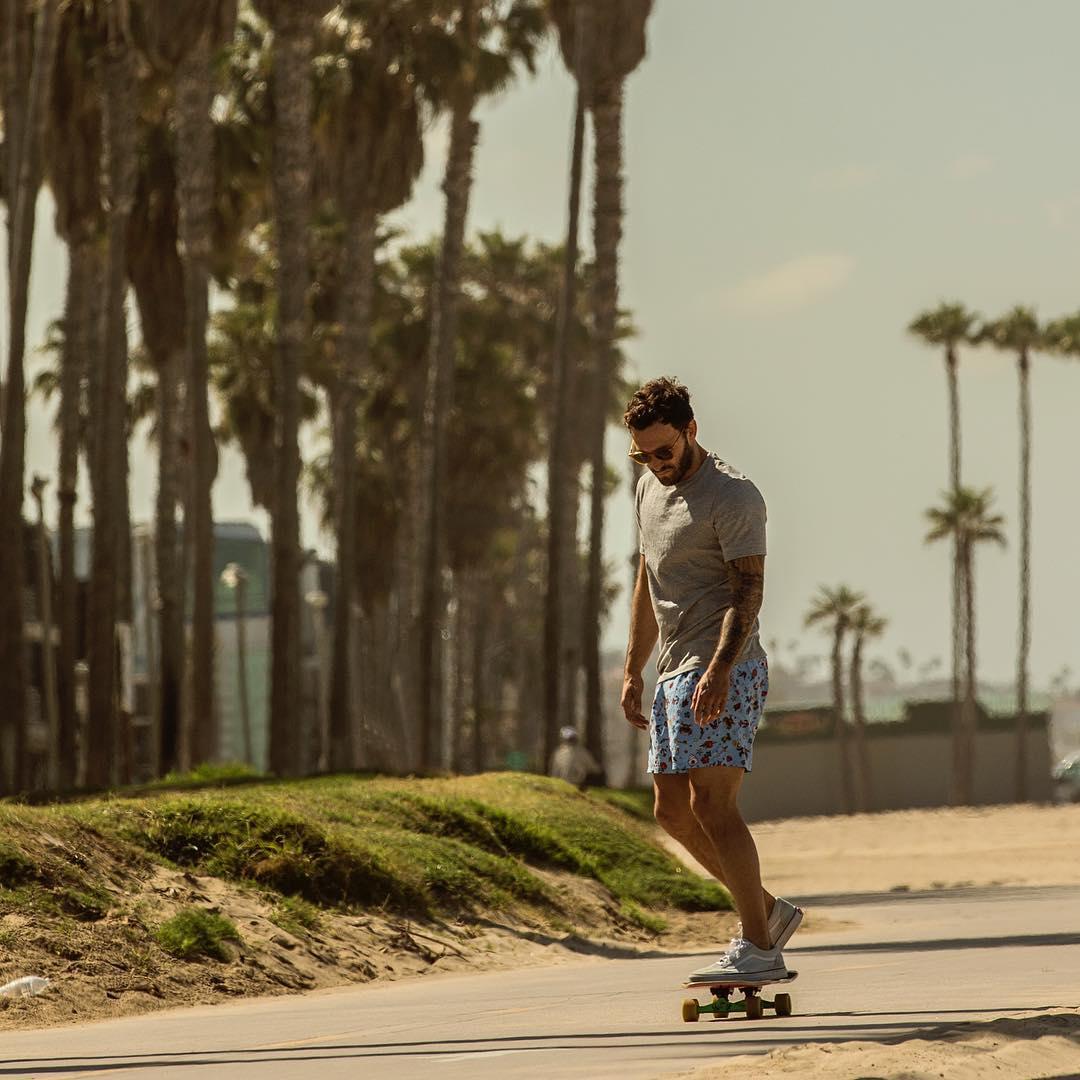 Calvin Corzine Venice Beach easy breasy