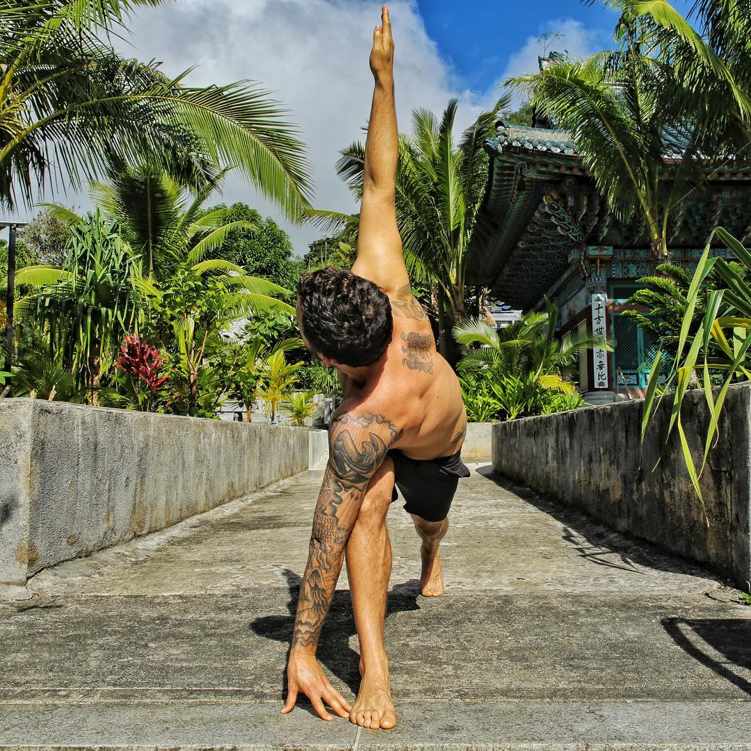 You got any resolutions this year? Not me- Cavin Corzine Yoga