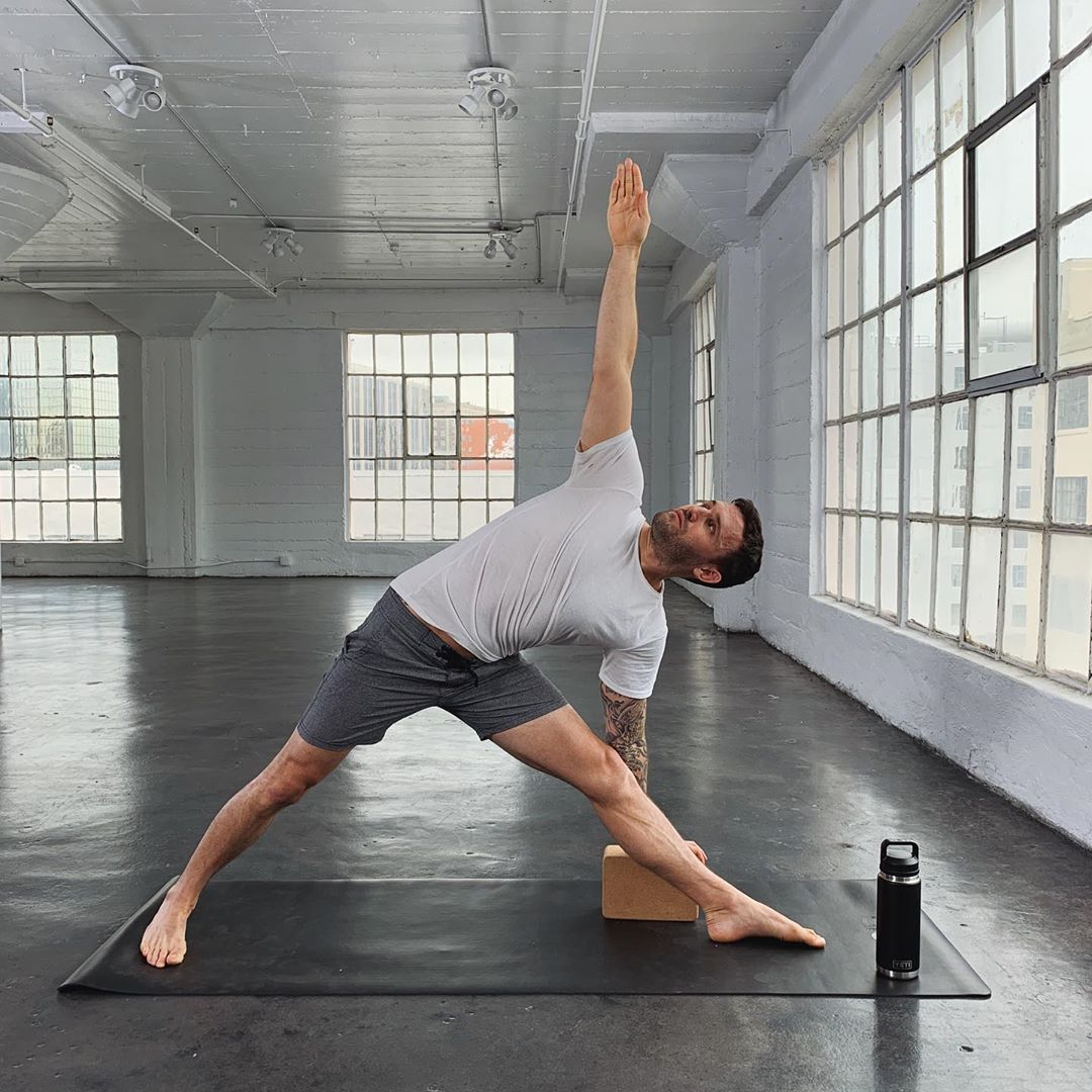 Keep it simple and practice the basics! Oh, and water...always water - Calvin Corzine Yoga