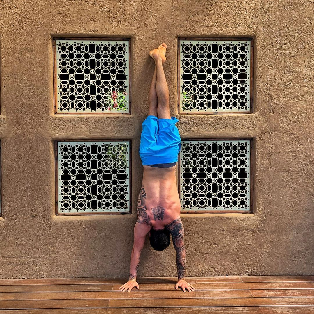If you're not having fun, it's your own fault! You're in control - Calvin Corzine Yoga