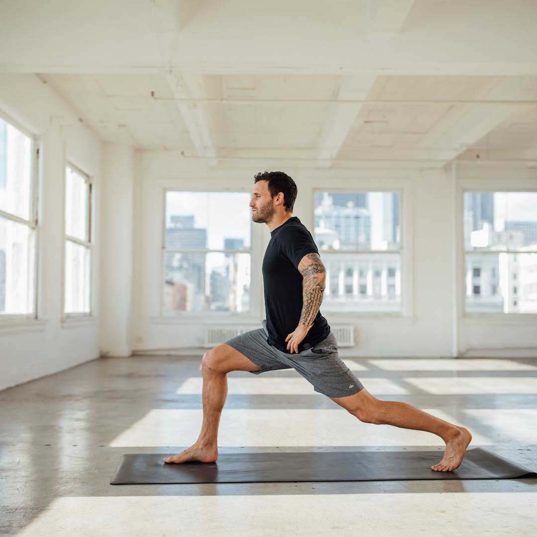 Practice makes perfect, especially with the simple poses - Calvin Corzine Yoga