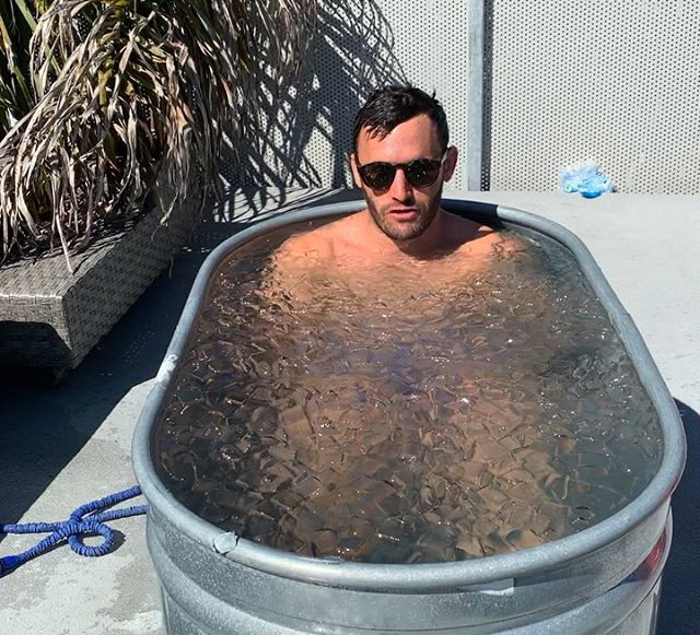 Basic Hypocrisy in my opinion, finding inspiration in the ice bath - Calvin Corzine