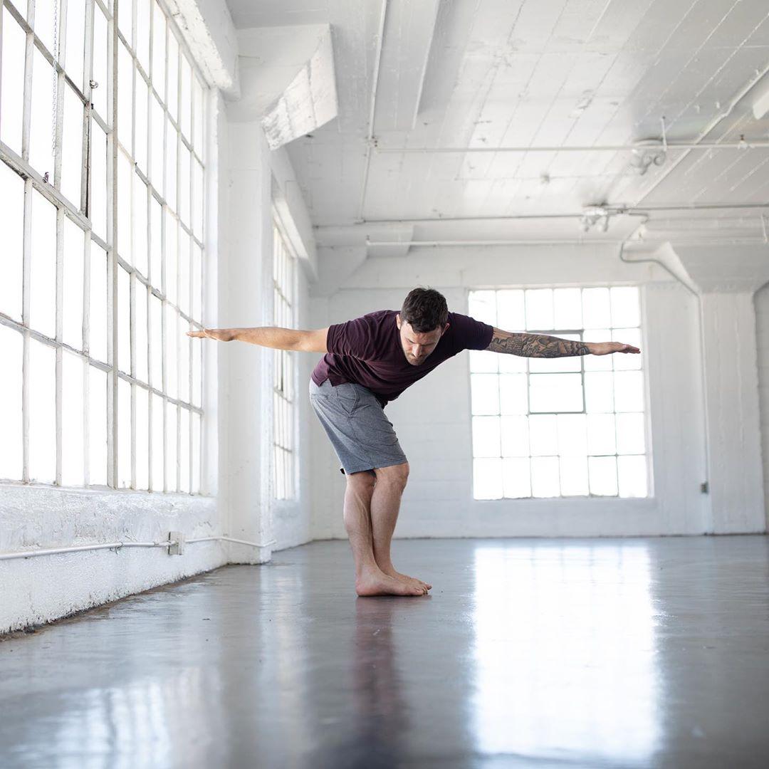 Respect the old school, integrate the new school  - Calvin Corzine Yoga