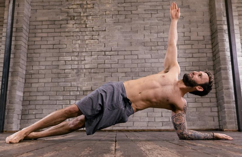 I Am A Big Fan Of This Staggered Leg Variation Calvin Corzine Yoga