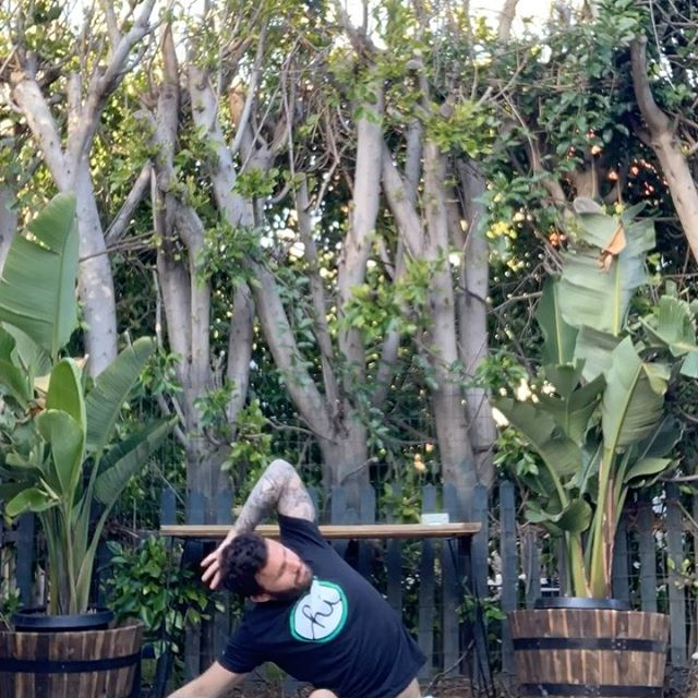 Keeping consistent is the most important thin to do during this pandemic - Clavin Corzine Yoga