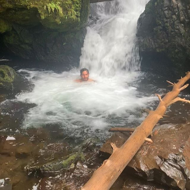 Nature is lit, 100%. Get outdoors, enjoy life - Calvin Corzine Yoga