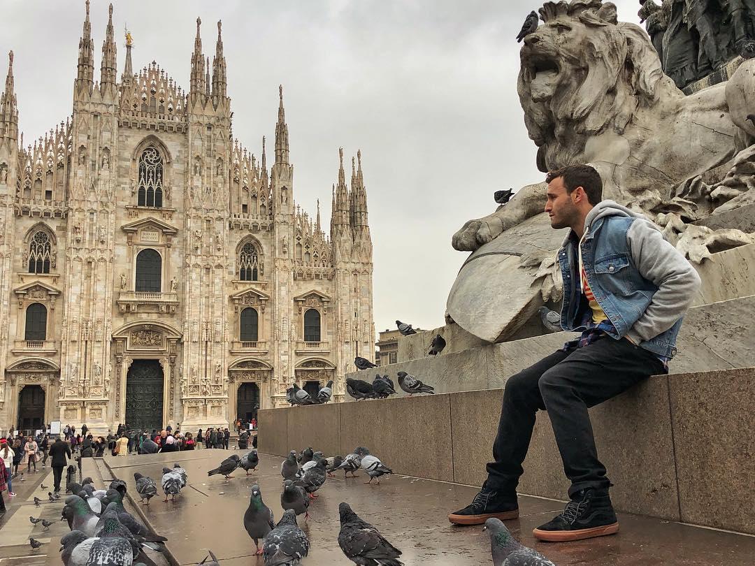 Milano Italy, absolutely beautiful- Calvin Corzine Yoga