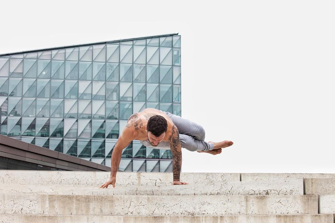 How you handle adversity defines you to others - Calvin Corzine Yoga