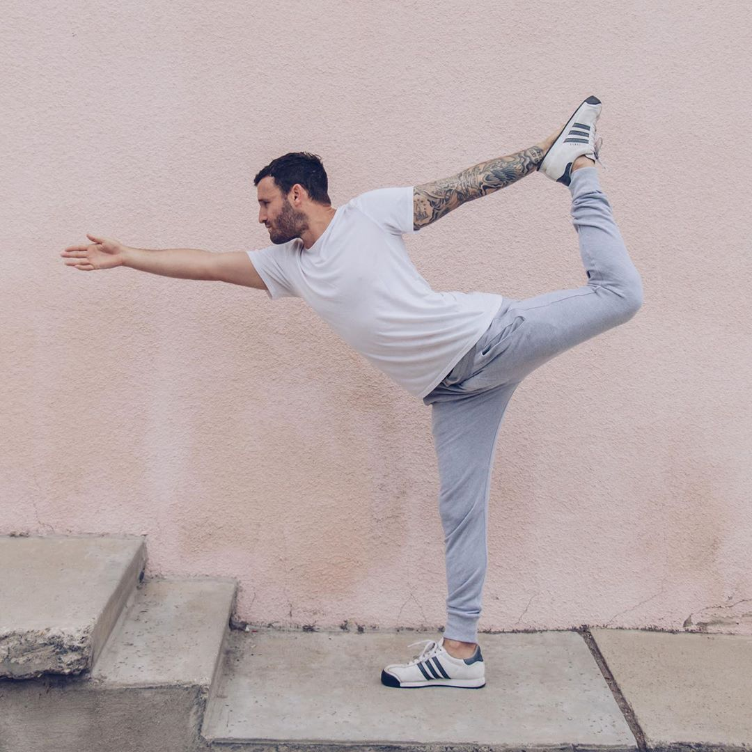 You ever ditch Jehovahs Witnesses....? Yeah, me too - Calvin Corzine Yoga