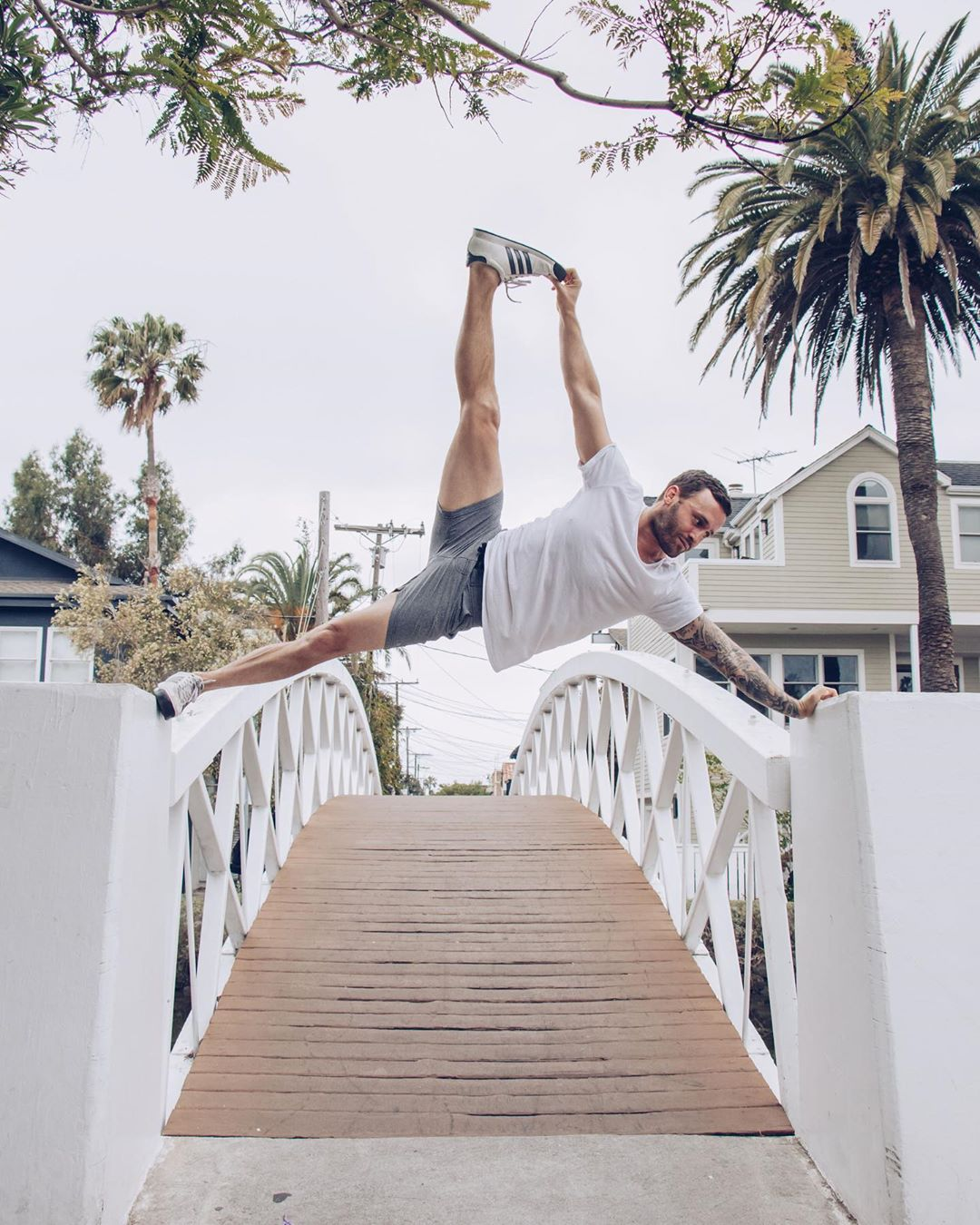 """""""My life coach is my coke dealer,"""" the things you hear in Venice - Calvin Corzine Yoga"""