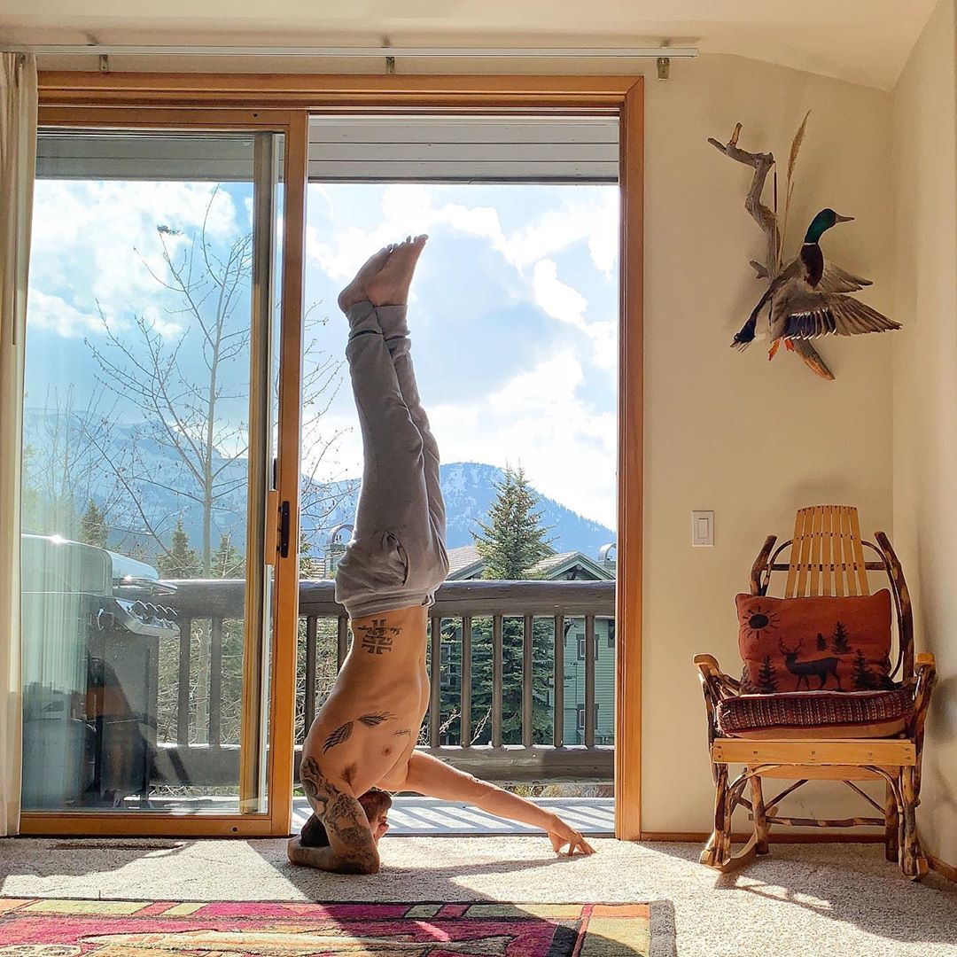 My favorite part of winter is when it's over - Calvin Corzine Yoga