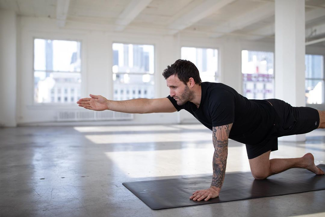 New classes of core up available, go and get it - Calvin Corzine Yoga