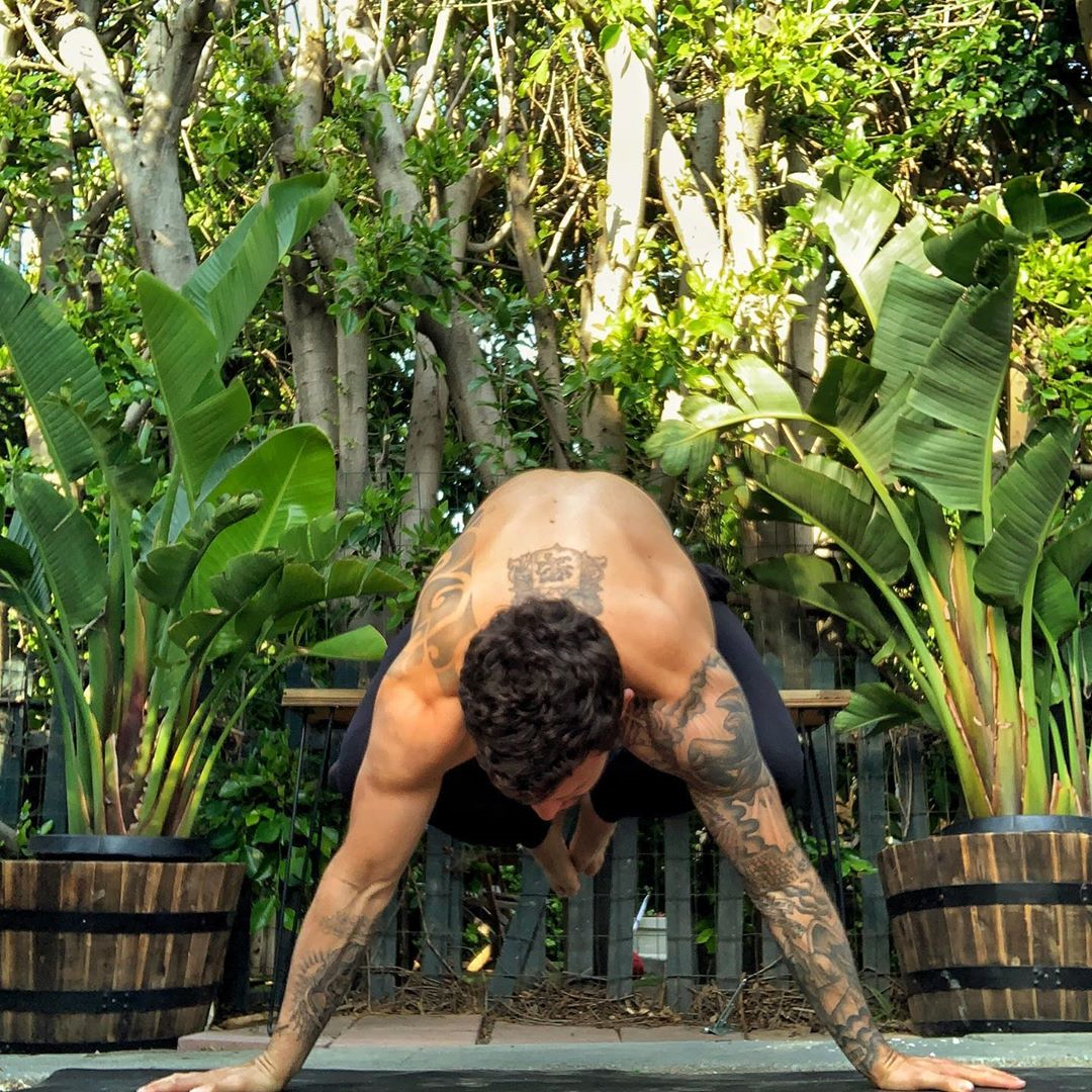 Embracing the home yoga practice - Calvin Corzine Yoga