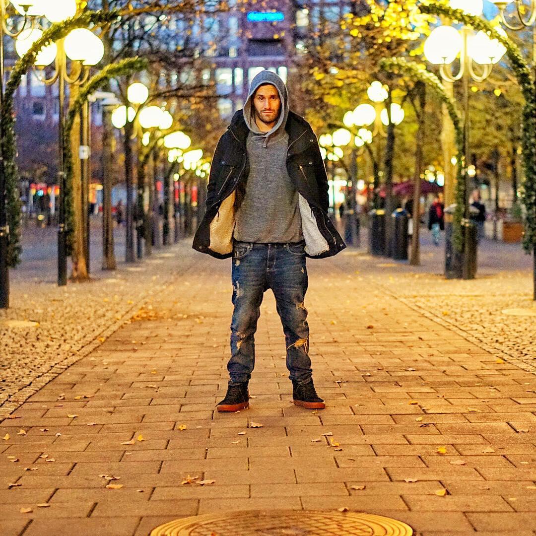Calvin Corzine Tack Stockholm