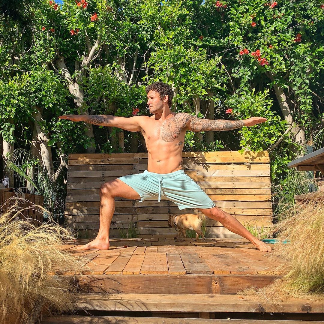 A standing pose for you to practice at home during Covid - Calvin Corzine Yoga