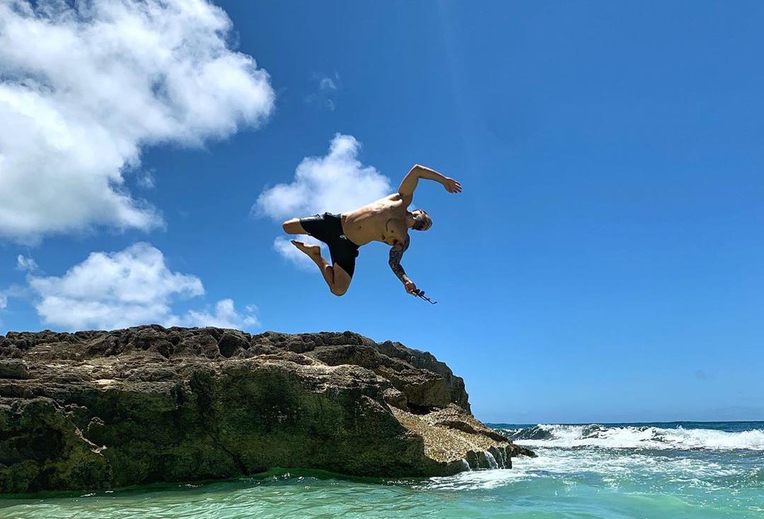 Nameste on Vacay for a few more days - Calvin Corzine Yoga