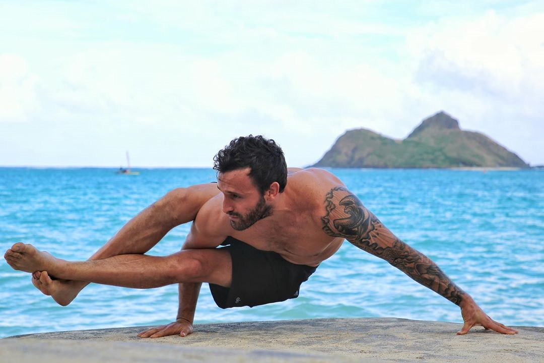 Hard times show true colors, especially those of our friends - Calvin Corzine Yoga