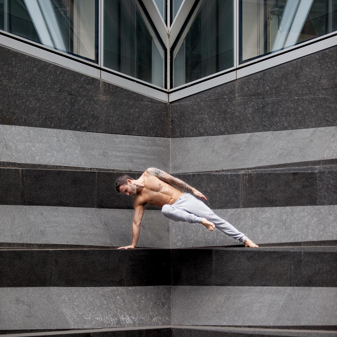 Calvin Corzine Yoga- Yoga is a Martial Art you do against yourself