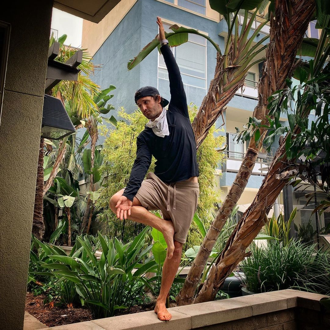 A variation of the Tree Pose from my own teacher, master the basics - Calvin Corzine Yoga