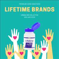 Buy Ultra Premium Hand Sanitizer Lifetime Brands Urban CBD Collective 404-443-3224