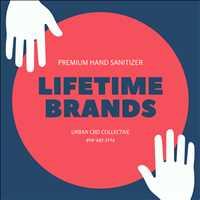 Order Ultra Premium Hand Sanitizer Lifetime Brands Urban CBD Collective 404-443-3224