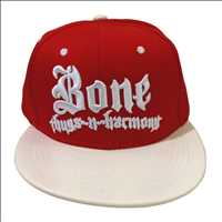 RED CROCODILE WHITE BRIM BONE THUGS N HARMONY SNAPBACK