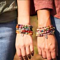 Help Support The Malala Fund Purple Charitable Bracelets Chavez for Charity 973-337-8551