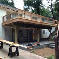 Custom Deck Renovation North Buckhead