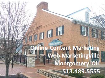 Web Marketingville Montgomery OH Online Content Marketing