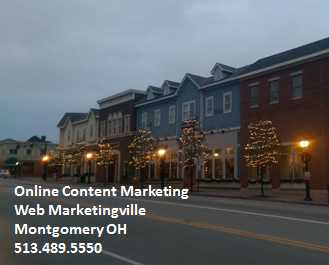 Best Online Content Marketing Montgomery OH
