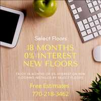 18 Months Zero Percent Interest on New Floors Marietta 770-218-3462