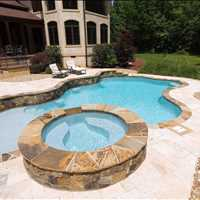 Inground Custom Concrete Swimming Pool in Waxhaw NC from CPC Pools Call Us At 704-799-5236